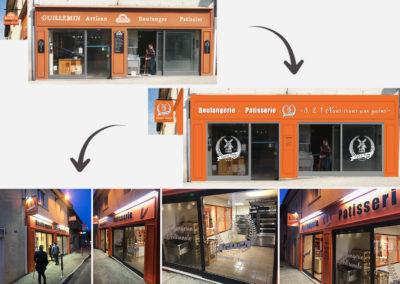 Boulangerie – Façade de boutique